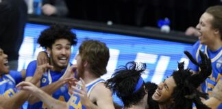 NCAA Men's Tournament 2021: Tuesday's Elite Eight Winners and Losers